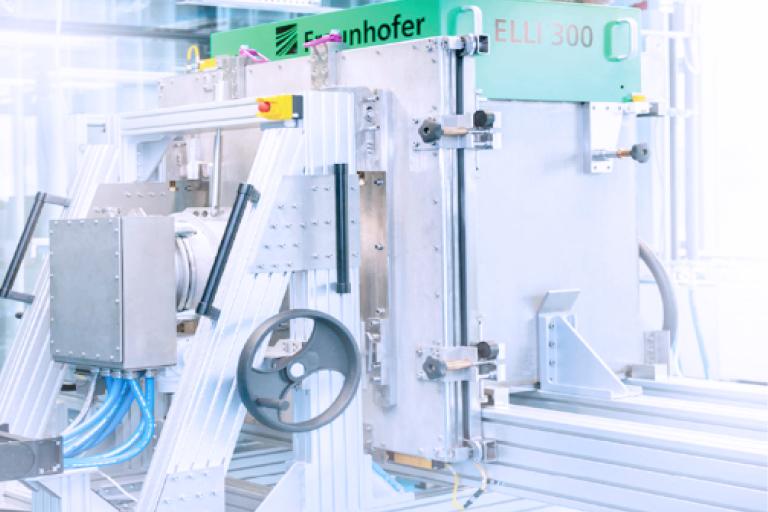 "The research prototype: ""ELLI 300"", Irradiation chamber Fraunhofer IZI"