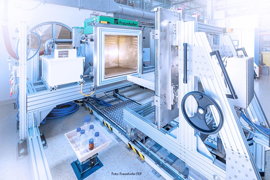 Irradiation Chamber, Fraunhofer FEP